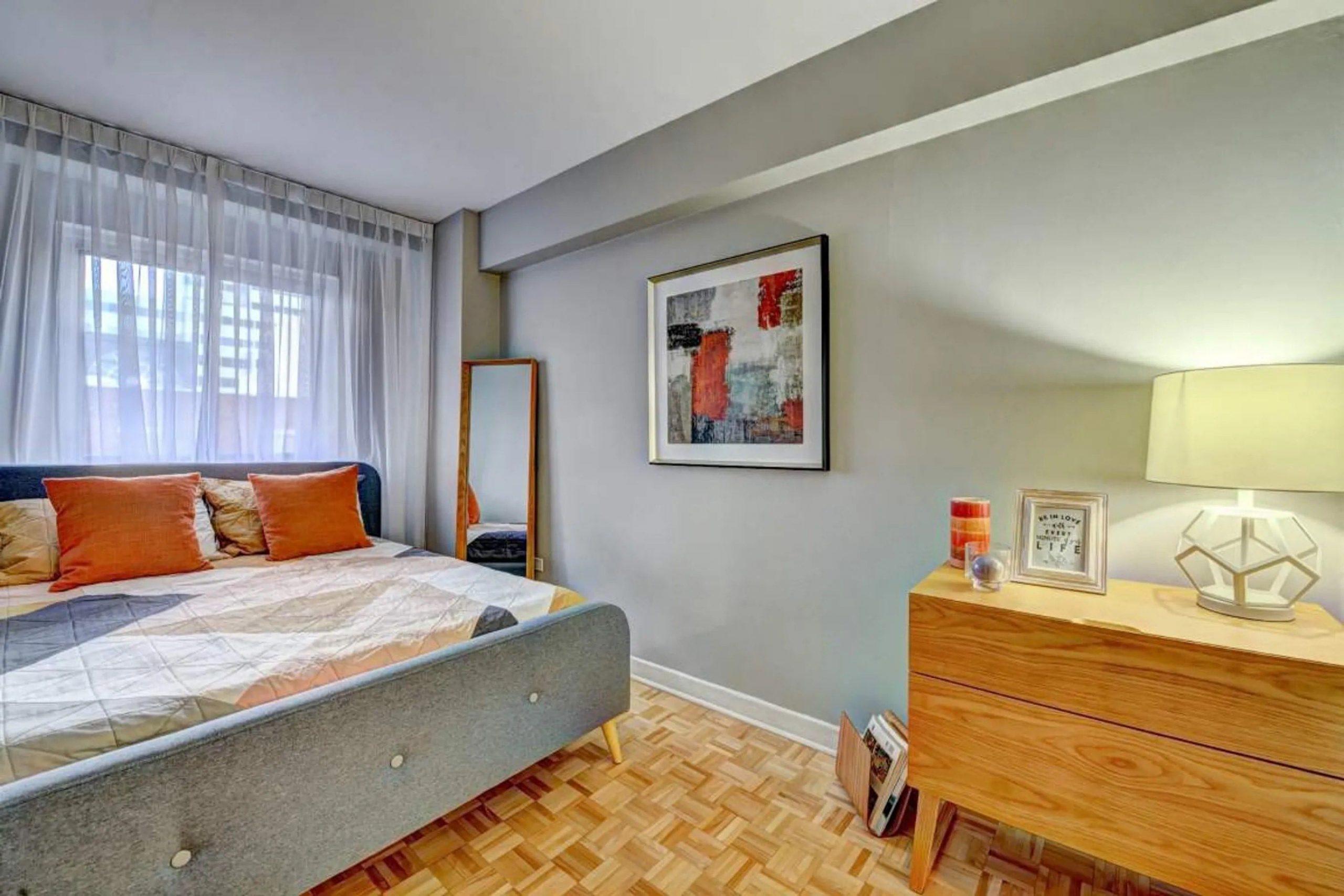 Photo 5 : Beau 3 ½, dans Ville-Marie, libre maintenant, Semi-meublé + chauffé + eau chaude + Stationnement intérieur inclus