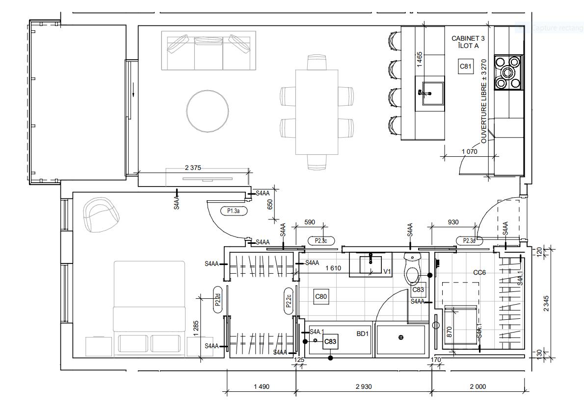 Photo 10 : 3 ½, NEUF, à Ste-Foy, Libre maintenant, Semi-meublé + Eau chaude + Stationnement intérieur inclus