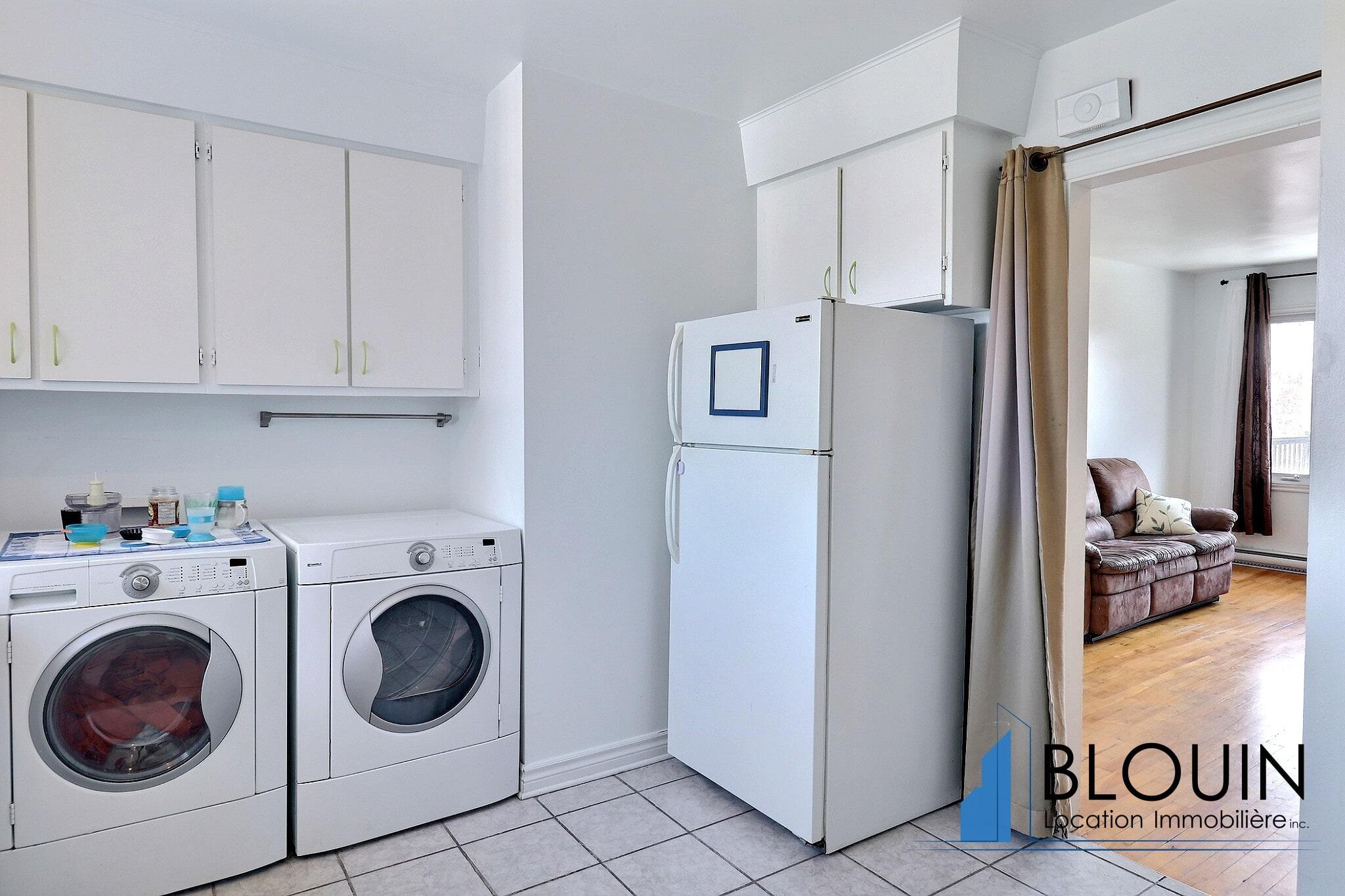 Photo 5 : 4 ½ à Beauport, libre pour Juillet, Dernier étage avec Stationnement