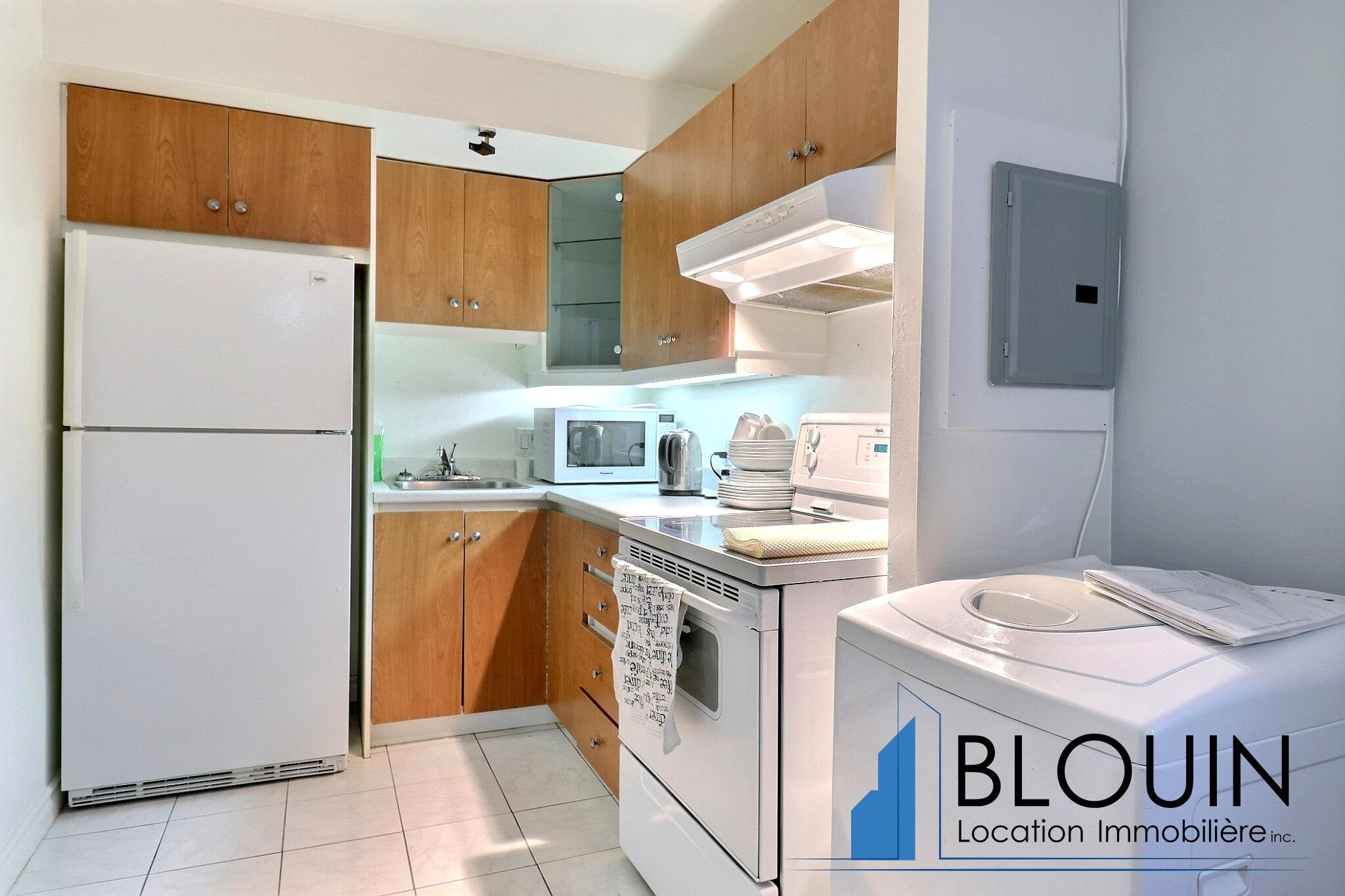 Photo 2 : 3 ½ à Montcalm, Entièrement meublé, libre pour Février, Chauffage + eau chaude + Stationnement inclus